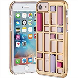 【iPhone8 ケース 水晶を使ったケージデザイン】 iPhone 8/7/6s/6 Caged Crystal Case Rose Gold ケージ クリスタル ケース
