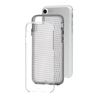 【iPhone8/7 ケース 2層構造のクリアータイプ】 iPhone8/7/6s/6 Hybrid Tough Translucent Case Clear / Smoke