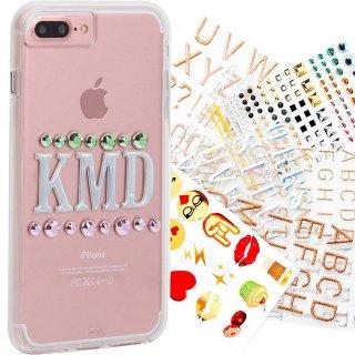 【iPhone8 Plus ケース 自分好みに飾り付け】 iPhone8 Plus/7 Plus/6s Plus/6 Plus Hybrid Naked Tough Custom Case