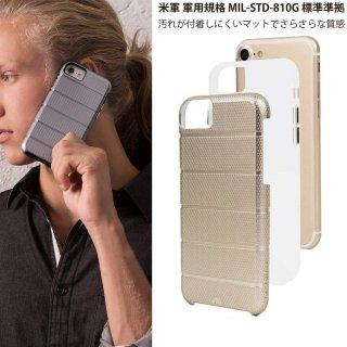 【iPhone8 Plus ケース 2層構造で保護】 iPhone8 Plus/7 Plus/6s Plus/6 Plus Hybrid Tough Mag Case Gold / Clear