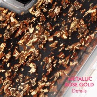 【 ロースゴールドの金箔を大胆にデザイン】iPhoneXR Karat-Rose Gold