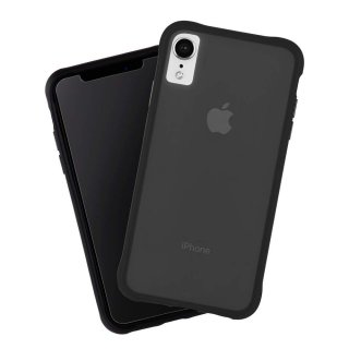 【ガラスフィルム付き!】iPhoneXR Tough MatteBlack and Screen Protector