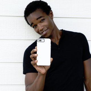 【シンプルな二重構造ケース】iPhone XR  Tough Grip - White/Black