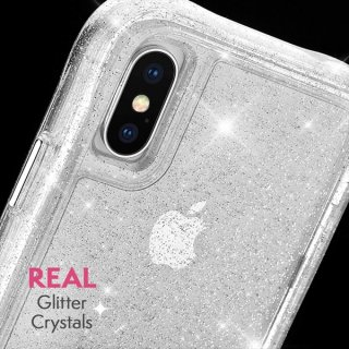 【クリスタルのきらめきが美しい】iPhoneXS Max Protection Collection Sheer-Crystal-Clear