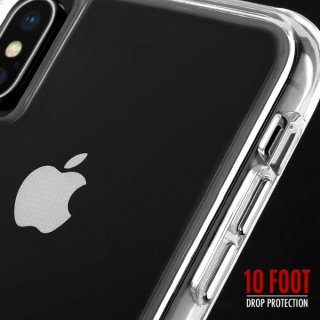 【スリムボディなのに耐衝撃性抜群!】iPhoneXS Max Tough Clear-Clear