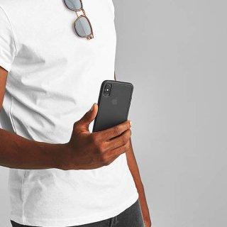 【スリムボディなのに耐衝撃性抜群!】iPhoneXS Max Tough-Matte Black