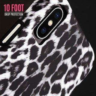 【大胆なプリントがインパクト大!】iPhoneXS Max Wallpapers-Gray Leopard