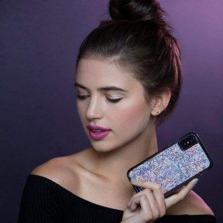 【水晶を使用した高級感あふれるプレミアムなケース】iPhoneXS/X Brilliance - Iridescent