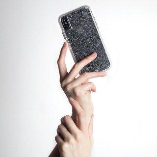 【透き通るきらめき】iPhoneXS/X Sheer Crystal - Clear