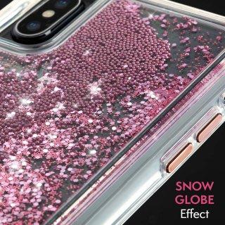 【Case-Mate 人気No.1ケース】iPhoneXS/X Waterfall-Rose Gold