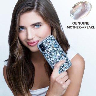 【本物の真珠貝を使用!美しく可愛いケース】iPhoneXS/X Karat-Pearl