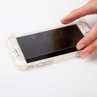 【美しく液晶画面を保護する硬度9H強化ガラス】 iPhone8 Plus/7 Plus/6s Plus/6 Plus Glass Screen Protector Champagne