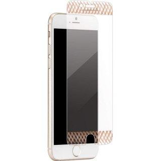 【美しく液晶画面を保護する硬度9H強化ガラス】 iPhone8 Plus/7 Plus/6s Plus/6 Plus Glass Screen Protector Rose Gold