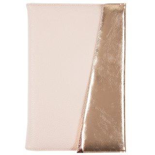 【8.5インチ までのタブレットに対応?】7インチ - 8.5インチ タブレット 汎用 ケース Edition Folio Rose Gold