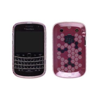 【2種の素材を使ったケース】 Ventev Hybrid Hex Case for docomo BlackBerry Bold 9900/9930  Red