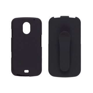 【ホルスター付きケース】 Wireless Solutions GALAXY NEXUS SC-04D Holster/Case Combo  Black