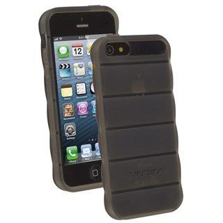【滑りにくいケース】 Ventev ヴェンテヴ iPhone SE/5s/5 スリップグリップ・ケース   スモーク