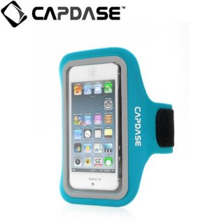 【ジョギングに最適なケース】 CAPDASE iPhone 5s/5 Sport Armband Zonic Plus  Blue