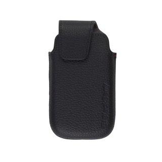 【純正のポケットタイプケース】 BlackBerry Torch 9850/9860 本革 Leather Pocket  Black