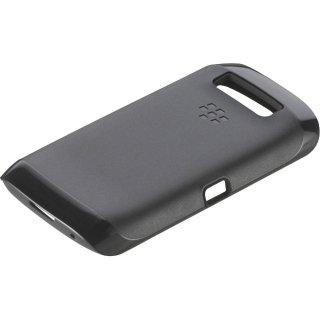 【純正の2種の素材を使ったケース】 BlackBerry Torch 9850/9860 Premium Skin  Black/Black