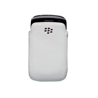 【純正ポケットタイプケース】 BlackBerry Curve 9350/9360/9370 Leather Pocket  White