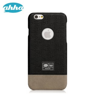 【iPhone6s/6 ケース テクスチャーパターンのハードタイプ】 ahha iPhone6s/6 4.7 inch Fashion Case PERRY  Stealth Black
