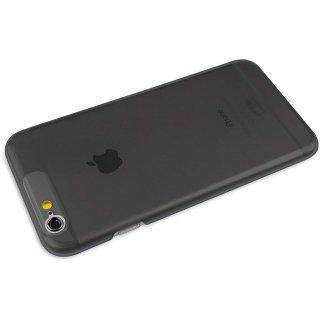 【iPhone6s/6 ケース 薄くて透明なハードタイプ】 ahha iPhone 6s/6  Skinny Hard Case POZO AIR  Clear Black