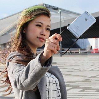 【iPhone6s/6 ケース 自撮りに便利】 ahha iPhone 6s/6  用 Snapshot Case SELFIE Clear/Black