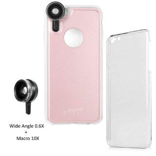【iPhone6s Plus/6 Plus ケース】 hvYourOwn iPhone GoLensOn Case PHOTO  レンズ装着ケース(ワイド+マクロ)  ピンク