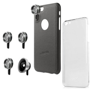 【iPhone6s Plus/6 Plus ケース】 hvYourOwn iPhone GoLensOn Case PHOTO  レンズ装着ケース(4種)  ブラック