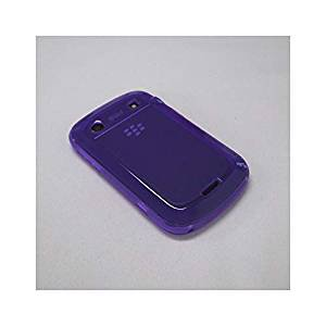 【ソフトケース】 GauGau docomo BlackBerry Bold 9900/9930 Plain Design Soft Case  Clear Purple