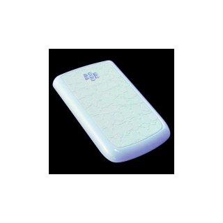 BlackBerry Bold 9780 Battery Door  Croco Glossy Flat White  Gloss Pearl White