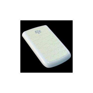 BlackBerry Bold 9780 Battery Door  Croco Glossy Flat Cream White  Gloss White