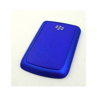 BlackBerry Bold 9780 Battery Door  Koskin Dark Blue  Rubberized Blue