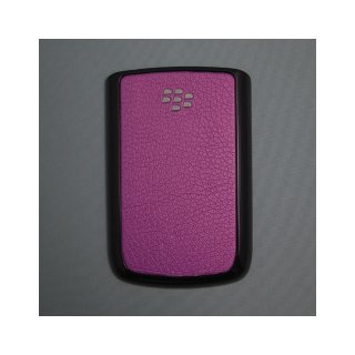 BlackBerry Bold 9780 Battery Door  Koskin Darkorchid  Gloss Black