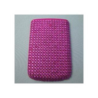 BlackBerry Bold 9780 Battery Door  Decorative Jewel Hot Pink