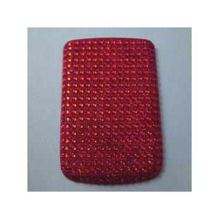 BlackBerry Bold 9780 Battery Door  Decorative Jewel Ruby Red