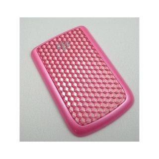 BlackBerry Bold 9780 Battery Door  3D Art Style  Pink