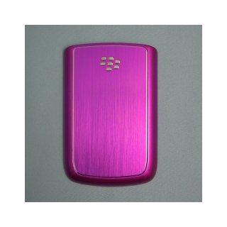 BlackBerry Bold 9780 Battery Metal Door  Hair Line Finished Purple  Gloss Purple