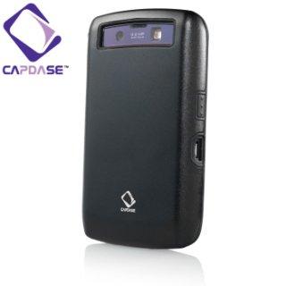 【アルミ合金とシリコンの2層構造ケース】 CAPDASE BlackBerry Storm.2 9520/9550 Alumor Case  Black