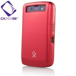 【アルミ合金とシリコンの2層構造ケース】 CAPDASE BlackBerry Storm.2 9520/9550 Alumor Case  Mahogany