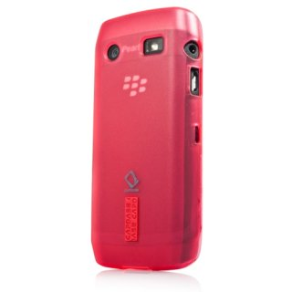 【定番のソフトケース】 CAPDASE BlackBerry Pearl 3G 9100 / 9105 Soft Jacket 2 XPOSE  Red