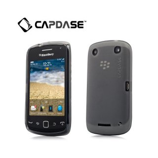 【定番のソフトケース】 CAPDASE BlackBerry Curve 9380 Soft Jacket 2 XPOSE  Black
