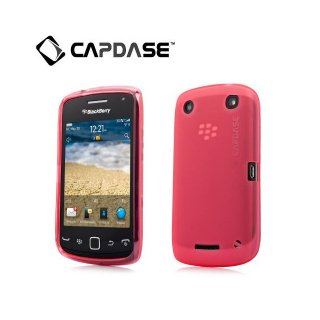 【定番のソフトケース】 CAPDASE BlackBerry Curve 9380 Soft Jacket 2 XPOSE  Red
