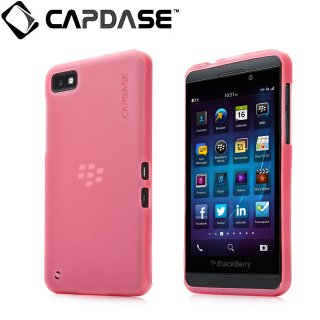 【定番のソフトケース】 CAPDASE BlackBerry Z10 Soft Jacket 2 XPOSE  Red