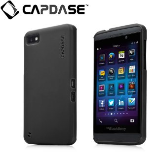 【定番のソフトケース】 CAPDASE BlackBerry Z10 Soft Jacket 2 XPOSE  Solid Black