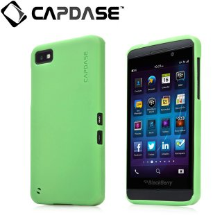 【定番のソフトケース】 CAPDASE BlackBerry Z10 Soft Jacket 2 XPOSE  Solid Green
