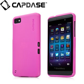 【定番のソフトケース】 CAPDASE BlackBerry Z10 Soft Jacket 2 XPOSE  Solid Fuchsia