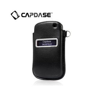 【ポケットタイプケース】 CAPDASE BlackBerry Curve 9350/9360/9370 Smart Pocket Callid  Black/Red