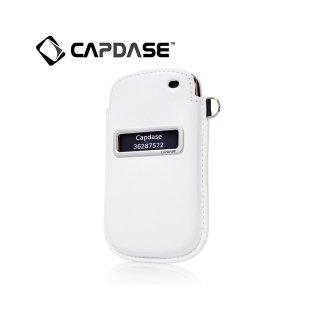 【ポケットタイプケース】 CAPDASE BlackBerry Curve 9350/9360/9370 Smart Pocket Callid  White/Red